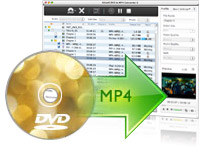 convertir dvd a mp4 Mac